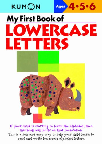 Download My First Book of Lowercase Letters