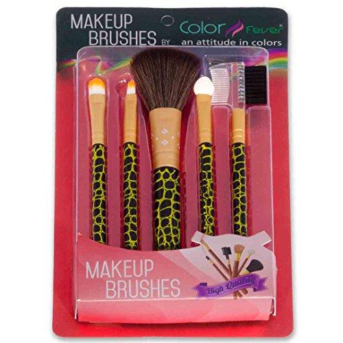 Color-Fever-Makeup-Brush-Set-Green
