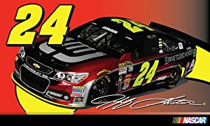 #24 Jeff Gordon 3x5 Flag by R2