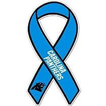 NFL Carolina Panthers Ribbon Magnet