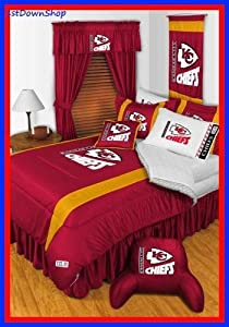 NFL Kansas City Chiefs- 5pc Bed-in-Bag - Queen Bedding Set by NFL