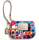 Coach Poppy Signature Wristlet Case Bag for IPOD 48151