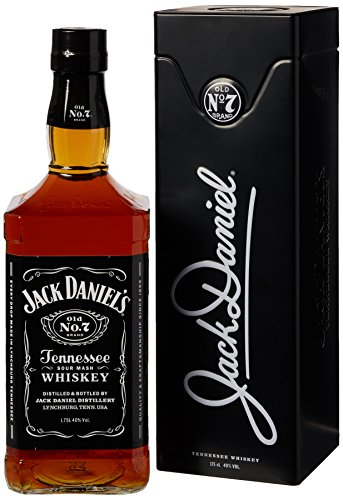 Jack Daniel discount duty free Jack Daniel's Gift Tin Whiskey 1.75 Litre