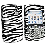 White / Black Zebra DESIGN SNAP-ON COVER HARD CASE PROTECTOR for BLACKBERRY ....