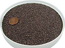 Colored Sand Safe for Play and Pets 20lbs (Dark Brown) For Vase Filler, Decoration, Aquarium, Sandboxes, Substrate and Landscaping