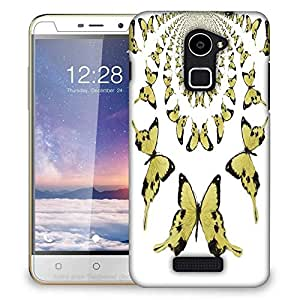 Snoogg kaleidoscopic butterflies Designer Protective Back Case Cover For Coolpad Note 3 Lite