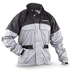 Mossi RX 1 Rain Jacket (Orange, Medium)