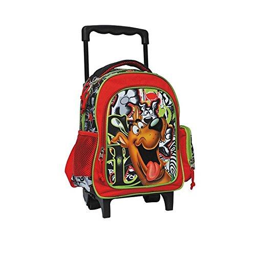 Scooby Doo-Borsa con rotelle, per scuola materna Scooby Doo-Cartella 30 CM