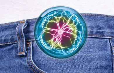 Rainbow Pocket Plasma with Clip