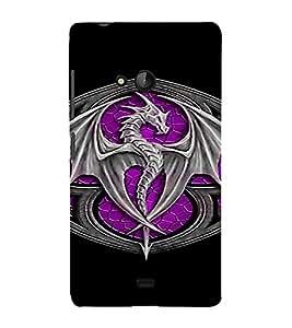 PrintVisa Dragon Batch GOT Design 3D Hard Polycarbonate Designer Back Case Cover for Nokia Lumia 540