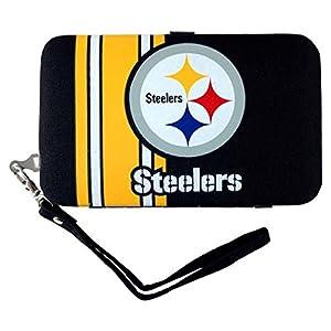 Pittsburgh Steelers Shell Wristlet at SteelerMania