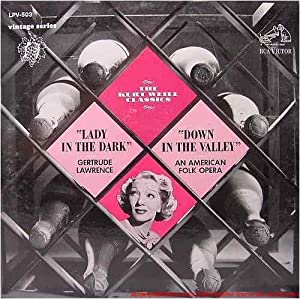 Weill Lawrence Adler RCA Victor Orchestra RCA Victor Chorus The Kurt Weill Classics Lady In The Dark