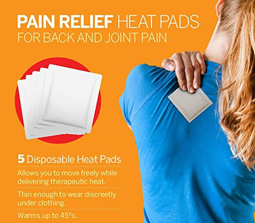 "Why Choose Sunny Bay Air-Activated Body Heat Patches, 12 Hours of Heat, Size 3"" x 5"", Warm..."