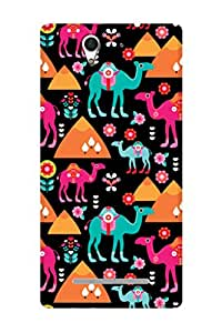 ZAPCASE Printed Back Case for SONY XPERIA C3