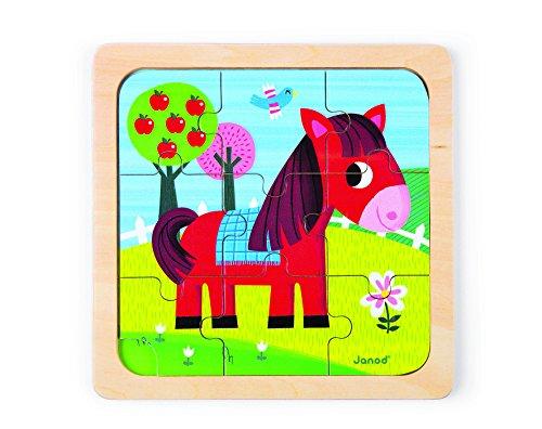 Janod Tornado Horse Puzzle