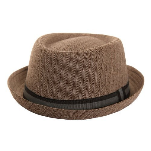 Adults-Unisex-Classic-Tweed-Pork-Pie-Hat