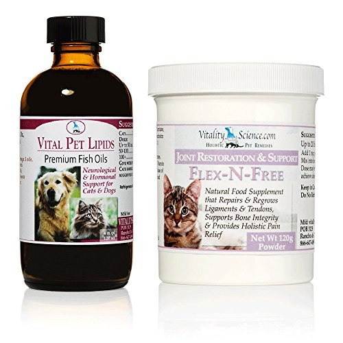 Arthritis Combo Flex-N-Free & Vital Pet Lipids For Cats - Small