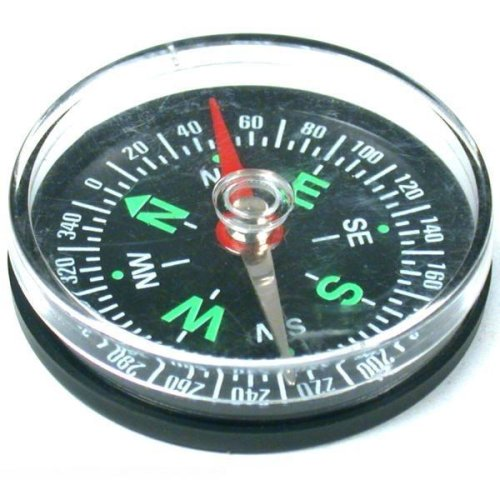 Pocket Compass Hunting Hiking Navigation Outdoor Tool