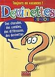 echange, troc Saintonge Veronique - Devinettes : Junior