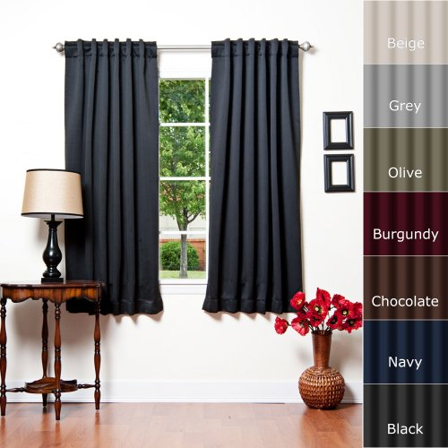 Buy Thermal Insulated Blackout Curtains Best Room Darkening Curtains