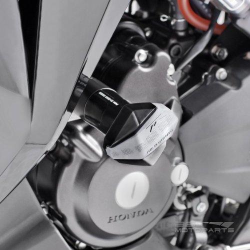 Roulettes de protection Suzuki GSXR 1000 05-06 noir