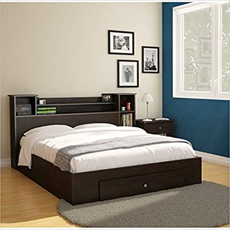 Nexera Pocono 3 Piece Full Bedroom Set in Espresso