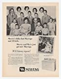 1967 Crookston-Evans Families Maytag Washer Dryer Print Ad (17154)