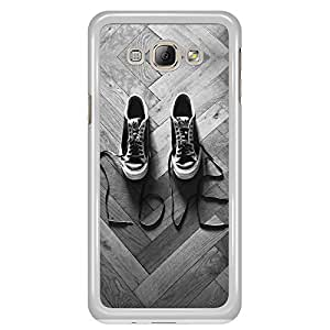a AND b Designer Printed Mobile Back Cover / Back Case For Samsung Galaxy A8 (SG_A8_664)