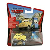 Disney Pixar Cars 2 - Luigi & Guido - Voiture Miniature Echelle 1:55 - N10 et 11 (W1947)