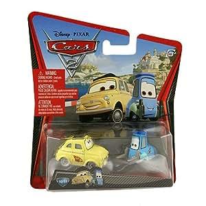 Disney Pixar Cars 2 Movie Die-Cast No. 10/11 - Luigi and ...
