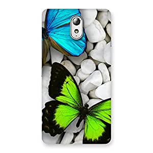 Ajay Enterprises Wonderful Premier Butterflies Back Case Cover for Lenovo Vibe P1M