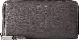 Cole Haan Women\'s Benson Continental Zip Wallet Storm Cloud Clutch