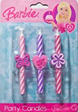 Barbie Icon Party Candles
