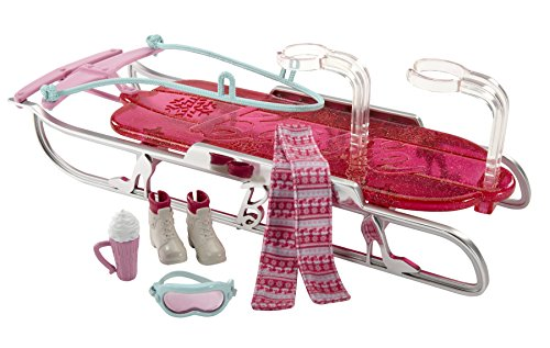 Barbie Let's Go Sled Toboggan Accessory Pack - 1