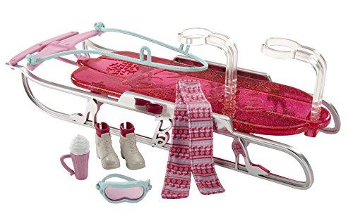 Barbie Let's Go Sled Toboggan Accessory Pack - 1