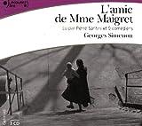 echange, troc Simenon Georges - L'Amie de Madame Maigret CD