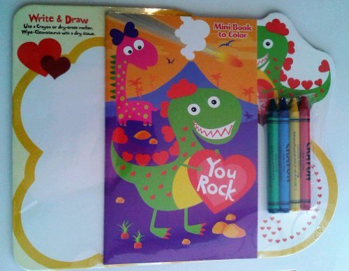 Kids' Dinosaur Coloring and Activity Set - 1