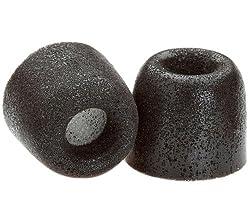 Comply Isolation Plus TX-200 Foam Earphone Tips (Black) 1 Pair