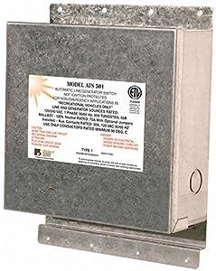 Parallax Power Supply (ATS501) 120/240 Volt 50 Amp Transfer Switch