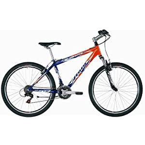 Atala Stratos Mens Mountain Bike - Orange, 17 Inch