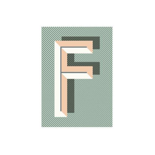 Ferm Living Notizbuch blanko Bau Deco DIN A5, F