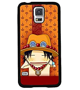 Fuson 2D Printed Cartoon Designer back case cover for Samsung Galaxy S5 Mini - D4288