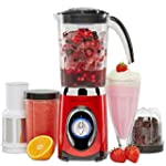 Andrew James Red 4 in 1 Multifunction...