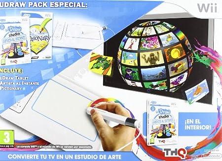 Udraw Studio: Artista Al Instante + Tablet Wii + Pyctionary