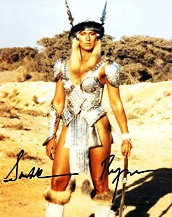 SANDAHL BERGMAN as Valeria - Conan The Barbarian Genuine Autograph at