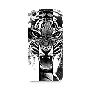 Mobicture Ferocious Tiger Premium Printed Case For HTC 626