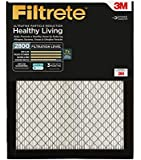 Filtrete Ultrafine Particle Reduction Filter, MPR 2800, 16 x 25 x 1-Inches, 2-Pack