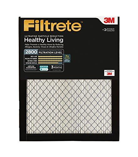 Filtrete Ultrafine Particle Reduction Filter, MPR 2800, 20x 30 x 1-Inches, 2-Pack (Filtrete 30x20x1 Air Filter compare prices)