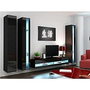mueble de salon con mesa para tv moderno muy buena calidad de