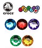 クロックス(crocs) ジビッツ Gems Circle サークル ブルー 小